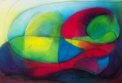 Liz B, 2012 - oils on paper