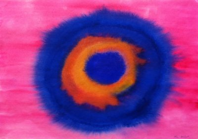 MA Colours of the rainbow II, 2010 - watercolours on paper