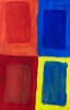 MA Coloured windows, 2011 - acrylics on cardboard