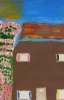 MA Blossom tree, 2011 - acrylics on cardboard - NFS